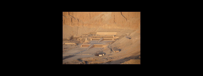 Fotografia: Świątynia grobowa królowej Hatszepsut