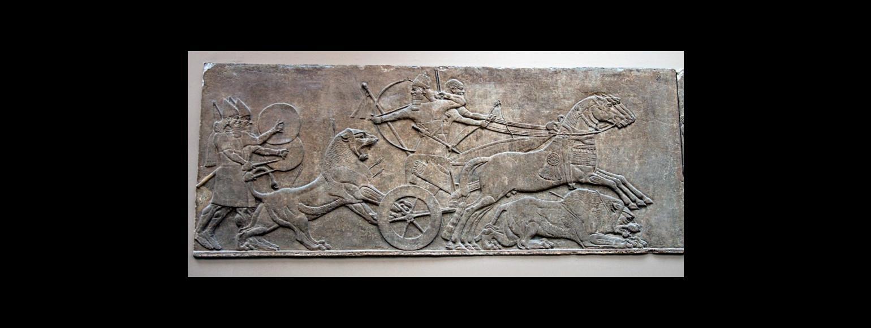 Fotografia: Relief asyryjski