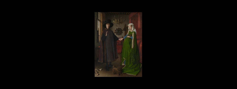 Fotografia: Małżeństwo Arnolfinich (Van Eyck)