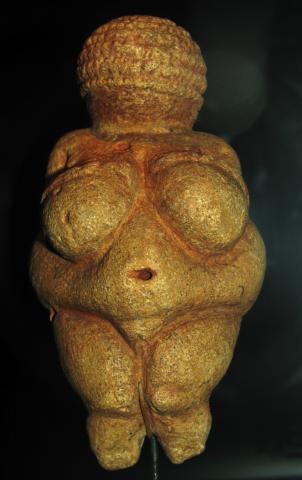 Fotografia: Paleolityczna Wenus (Wenus z Willendorfu)
