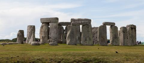 Fotografia: Okrąg kultu Stonehenge