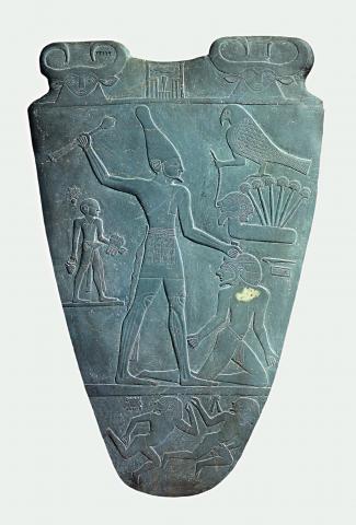 "Fotografia ""Paleta króla Narmera"""