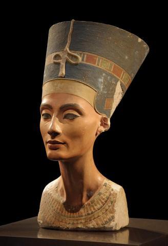 Fotografia: Popiersie królowej Nefertiti