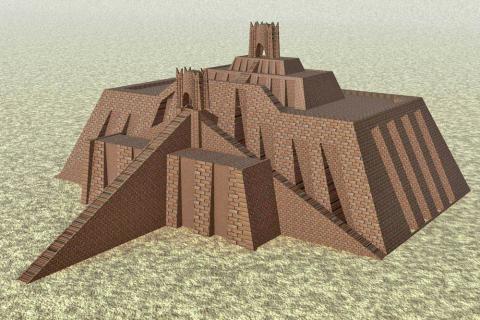 Fotografia: Schemat zigguratu