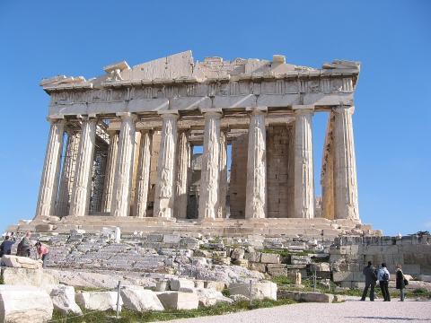 Fotografia: Partenon – model