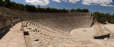 Fotografia: Teatr w Epidauros