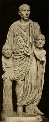 Fotografia: Statua Barberini – weryzm rzymskiej rzeźby portretowej okresu starożytnego