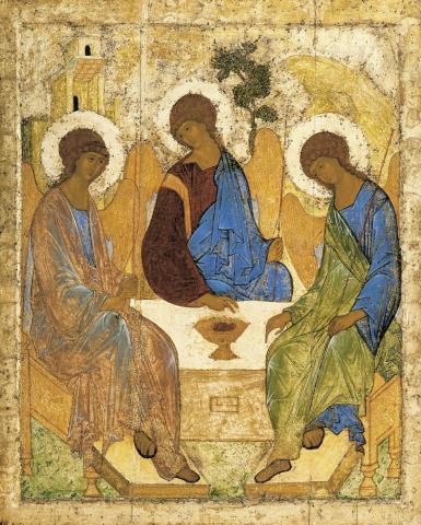Fotografia: Ikona Trójcy Świętej, Andriej Rublow