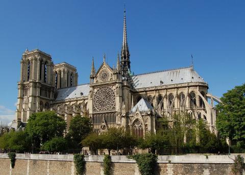 Fotografia: Bryła katedry gotyckiej