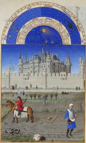 Fotografia: Bardzo bogate godzinki księcia de Berry – malarstwo miniaturowe