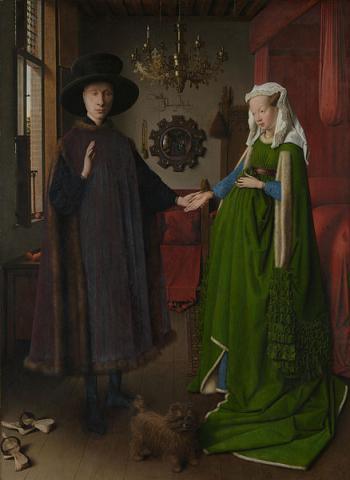 Fotografia: Małżeństwo Arnofinich, Jan van Eyck